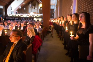 Presented the first Sunday in December, Christmas at The Valley is the College's traditional gift to the local community