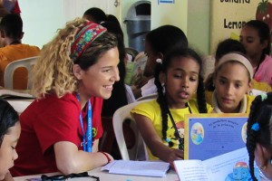 LVC Students working with Outreach360 program in the Dominican-Republic