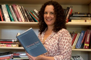 Dr. Catherine Romagnolo, professor of English, authored a book about feminist fiction