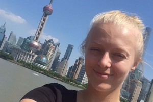 Elise Hanks-Witaszek studied in Shanghai, China