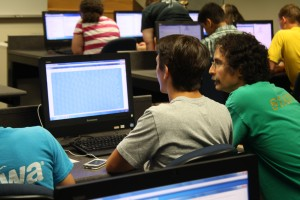 Students participate in the Actuarial Science Camp hosted by LVC