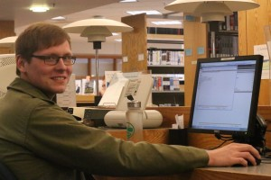Jarrod Goss, an LVC English and Philosophy double major, compiled an anthology for a research symposium
