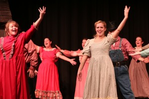 Wig and Buckle Theater Company presents a variety of plays and musicals in Leedy Theater in the Allan W. Mund College Center