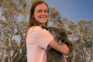 LVC student Jenna Lysakowski studies abroad in New Zealand