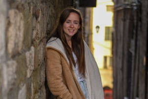 Anne Baney studies abroad in Italy