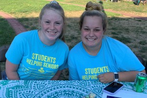 Sarah Bruchey is a Lebanon Valley College student who volunteers in the campus community