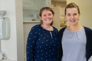 Two Lebanon Valley College alumni are working in the same dental office