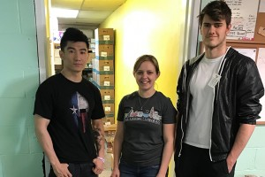 Lebanon Valley College students volunteer to help feed families at The Caring Cupboard