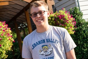 Lebanon Valley College welcomes a freshman to campus