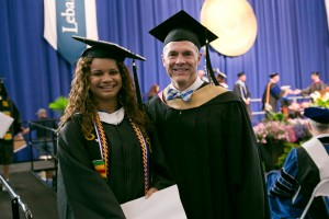 Giovanna Ortiz successfully graduated from the Spanish program at Lebanon Valley College