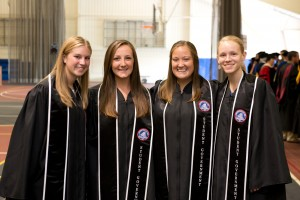 Members of LVC student government attend commencement