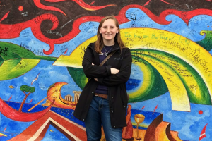 Katie Deppen, an Elementary Education graduate, now teaches in Berlin, Germany