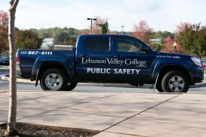Public Safety patrols campus to ensure it is a safe area