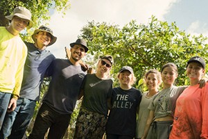 LVC Students in Puerto Rico for Service Trip