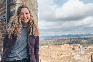 LVC student Rachael Barrick studying abroad in Italy