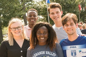 International Students arrive to Lebanon Valley College