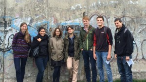 Students take part in an immersive experience in Germany