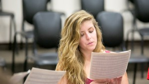 Lebanon Valley College music majors choose from a variety of concentrations including voice