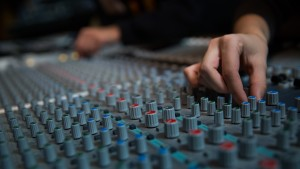 LVC Music majors develop skills in editing and mixing music using the recording studios on campus