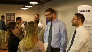 LVC Accounting students network at their annual event