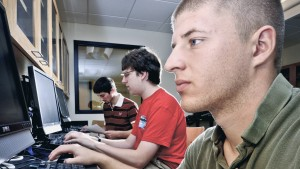 Lebanon Valley College Mathematics students use technology to conduct their research