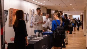 LVC students mingle with employers at Accounting Night