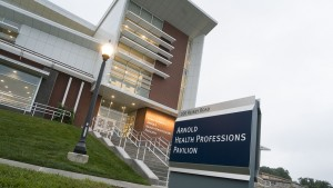 The Arnold Health Professions Pavilion, home to our DPT program