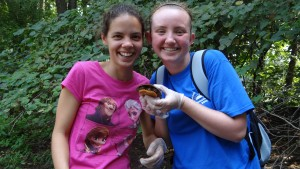 Environmental Science majors conduct studies on the animals found in the local environment