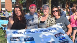 Members of Student Government participate in the annual Activities Fair