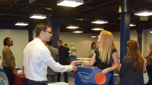 Actuarial science student discusses potential internships with employers