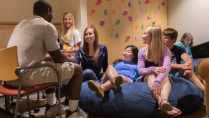 Students enjoy the total college experience at LVC