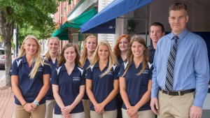 LVC Physical Therapy majors treat members of the LVC community and local public at their clinic