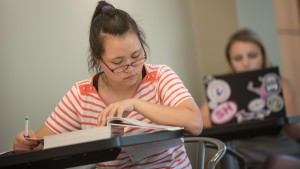 Students at Lebanon Valley College work hard to succeed academically