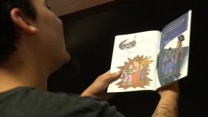Kyle runs Reading for a Change with his students in two prisons. Ward and his students record prison parents reading books to their children to help maintain social bonds.