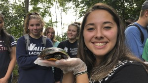 LVC students take to nature at the local quitty