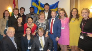 History, Politics, and Global Studies students gain experience by attending the European Union Simulation