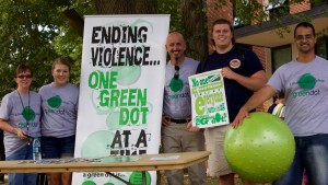 Green dot members take a stand against violence on LVC's campus