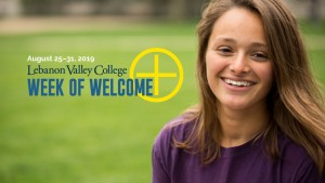 Lebanon Valley College celebrates the start of a new academic year