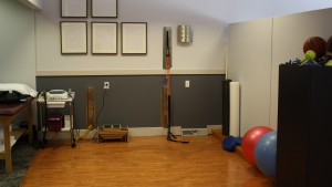 The LVC Physical Therapy clinic allows for experiential learning and the development of clinical skills