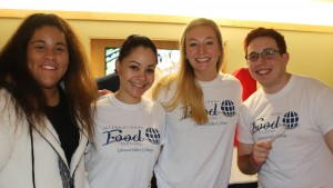 Members of the Global Education club participate in the annual International Food Festival