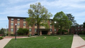 Mary Green residence hall is one of many housing options on campus