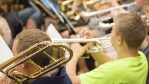 Students participate in the Summer Music Camp hosted by LVC
