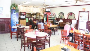 J&S Pizza and Italian Restaurant is located within Annville's square