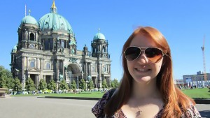 Kayla Klumpp studied abroad in Berlin, Germany