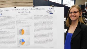 Presenting research at LVC's annual Inquiry Symposium