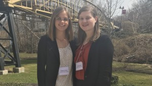 Lebanon Valley College English majors present research at conference