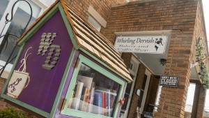 The Whirling Dervish offers yummy baked treats and an outdoor patio.