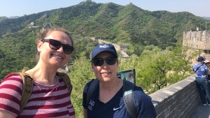 Lebanon Valley College athletic training faculty visit the Great Wall of China
