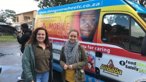 D'anna Sydow completes internship in South Africa