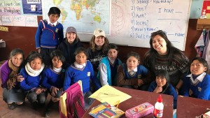 Lebanon Valley College students travel to Peru